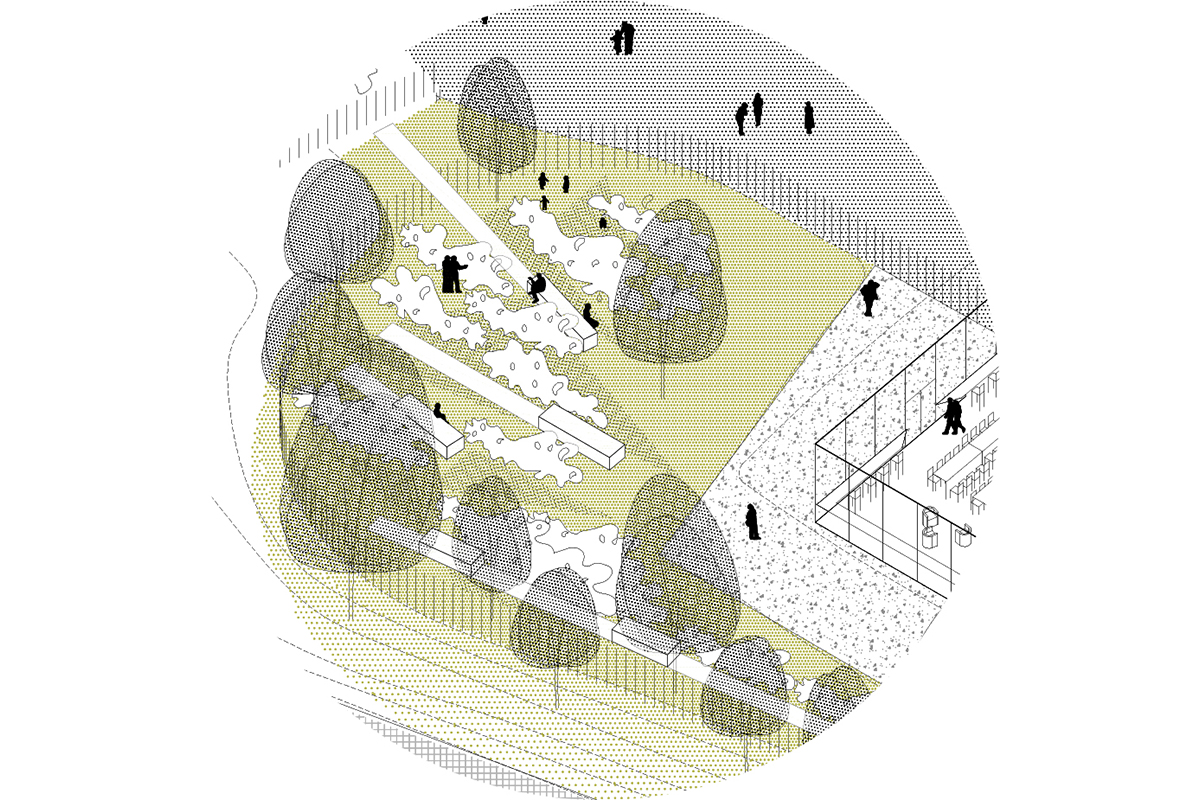 Delgoffe architecture : Potager